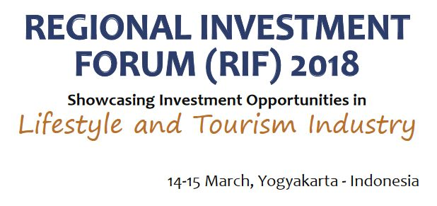 Regional Investment Forum 2018 - Lifestyle and tourism industry