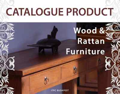 Wood & Rattan Furniture - Issued by ITPC